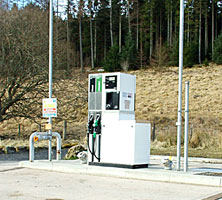Petrol Station in Kielder
