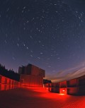 Star Trails over Kielder Observatory