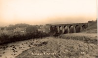 One of many images of the viaduct taken by celebrated local photographer Walter Percy Collier.